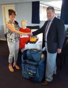 Donation to Volunteer Centre