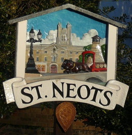 St Neots Town Sign