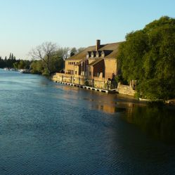 St Neots Priory Centre from Town Bridge